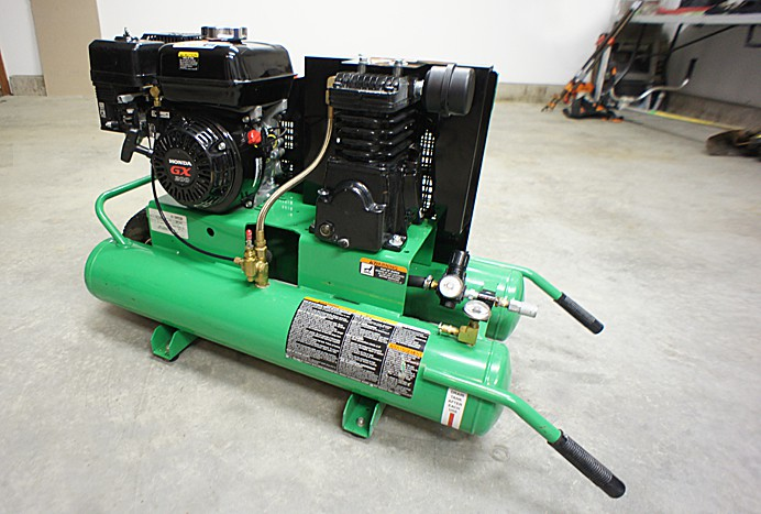 Emglo 5 horse gas air compressor