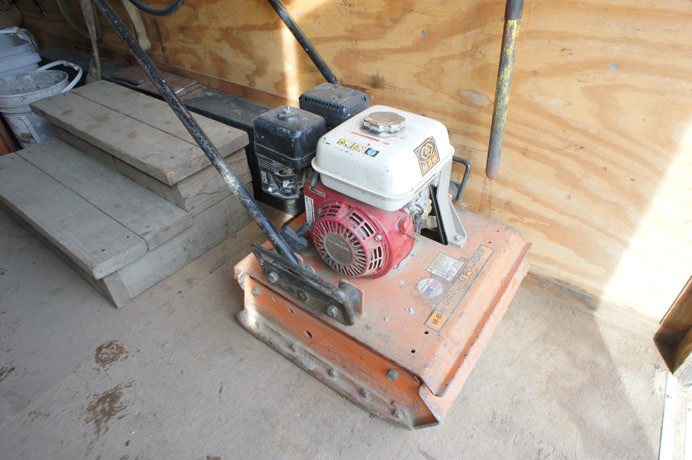 Ground Pounder Plate Compactor