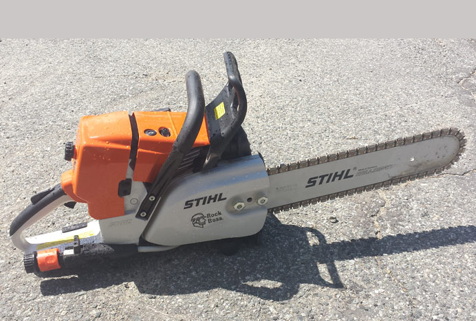 Stihl 461 Rock Boss Saw
