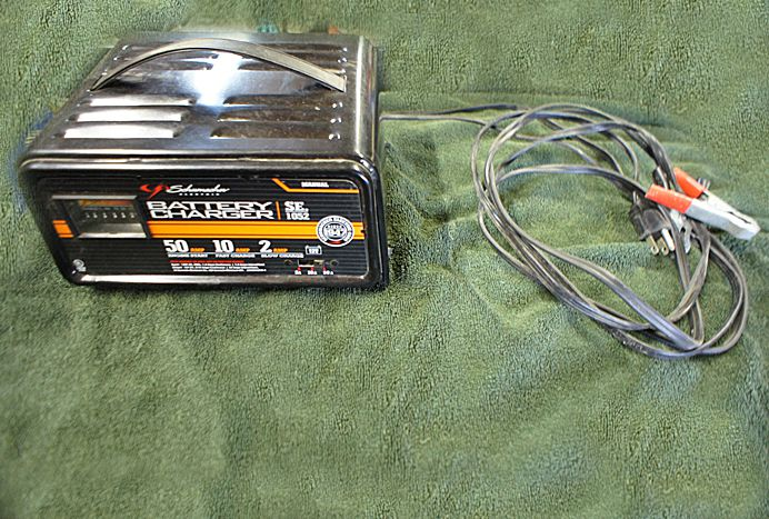 Shumacher Multi Voltage Battery Charger