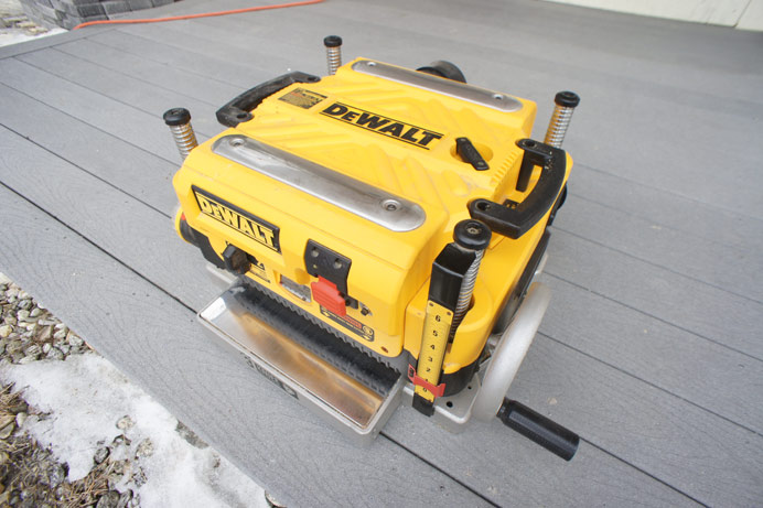 DEWalt surface planer