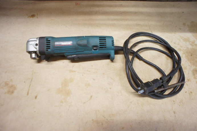 Makita right angle hand drill