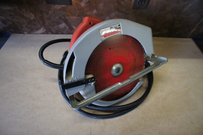 Milwaulkee 10 inch circular beam saw