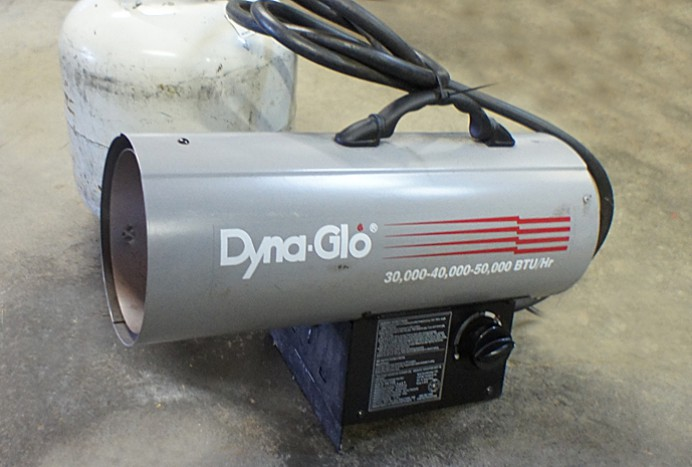 Dyna Glo 30-50,000 BTU variable speed propane torpedo heater