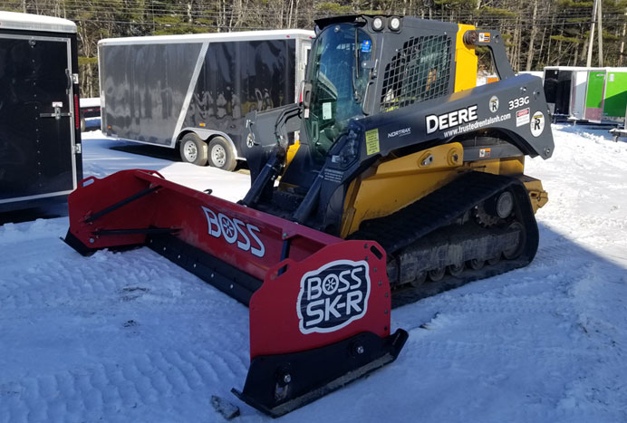 Boss Snow Pusher