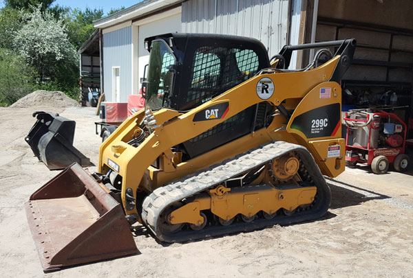 CAT 299C skid steer