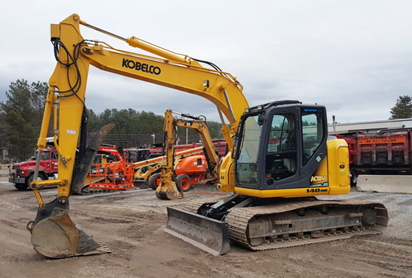 Kobelco 140SR (CAT 313 equivalent)