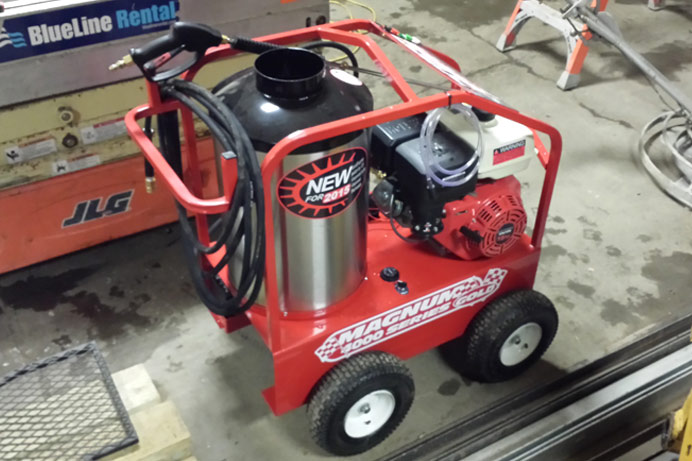 Power America 1322 steam pressure washer