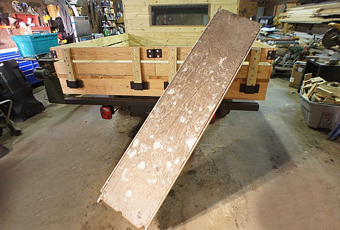 Aluminum staging plank