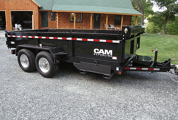 Cam Superline 14000 lb Dump Trailer