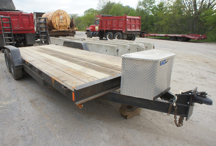 quality equipment/car hauler trailer