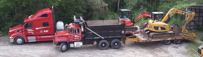 hauling equipment