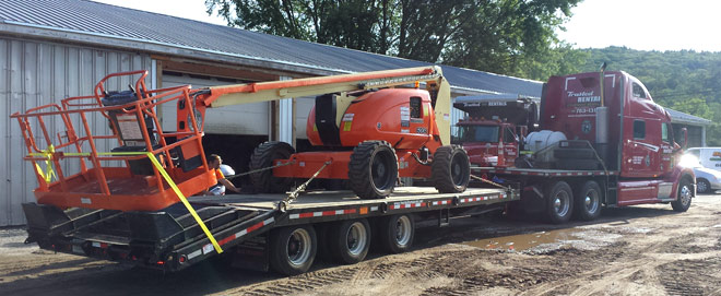 towmaster Trailer and Peterbilt Tractor