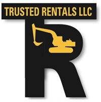 Trusted Rentals equipment logo