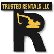 Trusted Rentals equipment logo